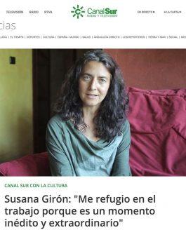 Entrevista para Canal Sur