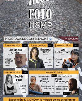 Conferencia en Universidad San Martín de Porres