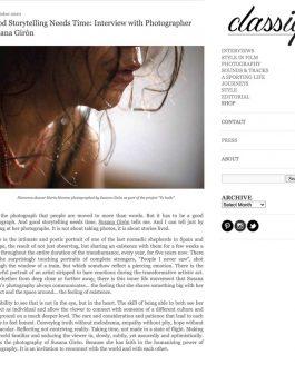 Entrevista en Classiq Journal