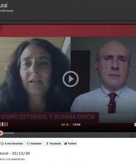 Entrevista TVE. La hora cultural